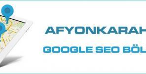 Afyonkarahisar Google Seo Bölgesel