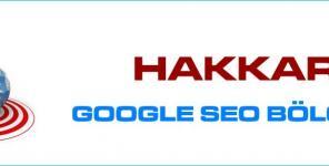 Hakkari Google Seo Bölgesel