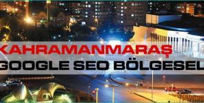 Kahramanmaraş Google Seo Bölgesel