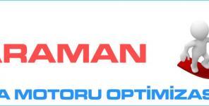 Karaman Arama Motoru Optimizasyonu